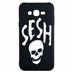 Чехол для Samsung J7 2015 Sesh skull