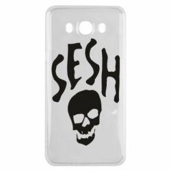 Чехол для Samsung J7 2016 Sesh skull