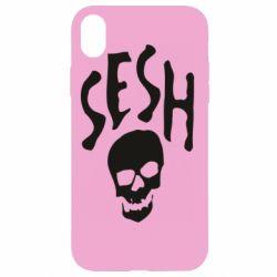 Чехол для iPhone XR Sesh skull