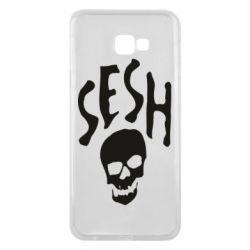 Чехол для Samsung J4 Plus 2018 Sesh skull