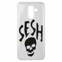 Чехол для Samsung J8 2018 Sesh skull