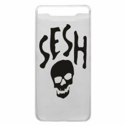 Чехол для Samsung A80 Sesh skull