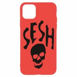 Чехол для iPhone 11 Pro Sesh skull