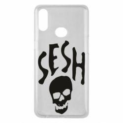 Чехол для Samsung A10s Sesh skull