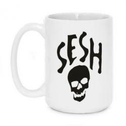 Кружка 420ml Sesh skull