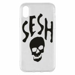 Чехол для iPhone X/Xs Sesh skull