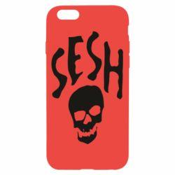 Чехол для iPhone 6/6S Sesh skull