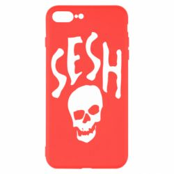 Чехол для iPhone 8 Plus Sesh skull