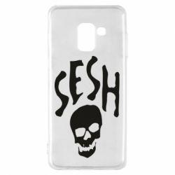 Чехол для Samsung A8 2018 Sesh skull