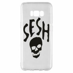 Чехол для Samsung S8+ Sesh skull
