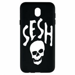 Чехол для Samsung J7 2017 Sesh skull