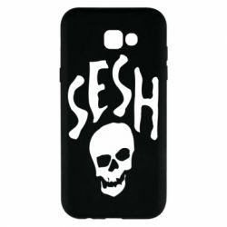 Чехол для Samsung A7 2017 Sesh skull