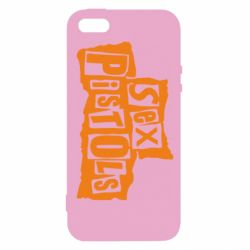 Чехол для iPhone5/5S/SE sex pistols - FatLine