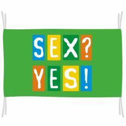 Флаг Sex?Yes!