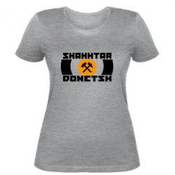 Женская футболка Shakhtar Donetsk - FatLine