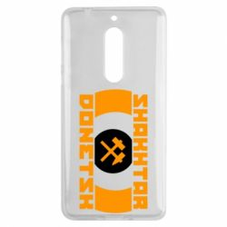 Чехол для Nokia 5 Shakhtar Donetsk - FatLine