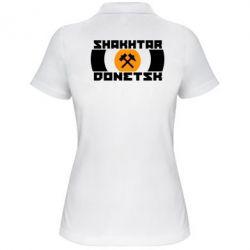 Женская футболка поло Shakhtar Donetsk - FatLine