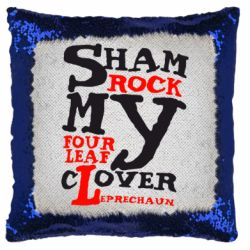 Подушка-хамелеон Sham Rock My Four Leaf Clover Leprechaun