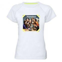 Жіноча спортивна футболка Shameless
