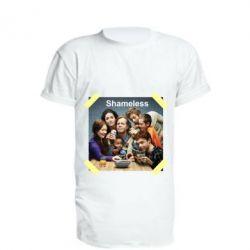 Подовжена футболка Shameless