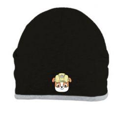 Шапка Dog in helmet