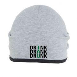 Шапка Drink Drank Drunk