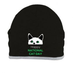 Шапка Happy National Cat Day
