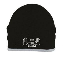 Шапка Keep your distance