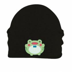 Шапка на флісі Baby frog