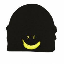 Шапка на флисе Banana smile
