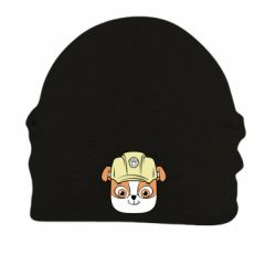Шапка на флісі Dog in helmet