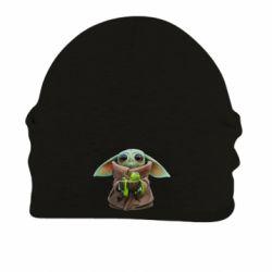Шапка на флісі Grogu and Kermit