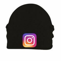Шапка на флісі Instagram Logo Gradient