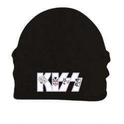 Шапка на флісі Kiss the music band