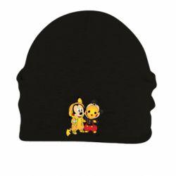 Шапка на флисе Mickey and Pikachu