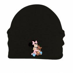 Шапка на флісі Minnie And Bear