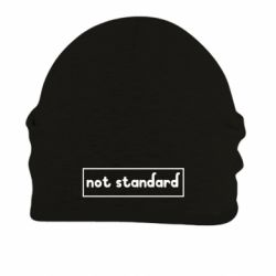 Шапка на флісі Not standard