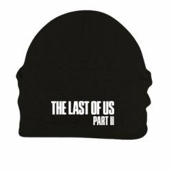 Шапка на флисе The last of us part 2 logo