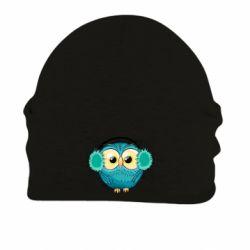 Шапка на флисе Winter owl