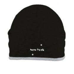 Шапка New York and stars