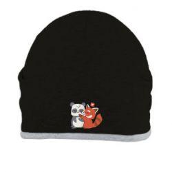 Шапка Panda and fire panda