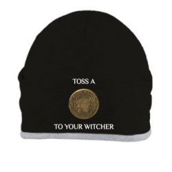 Шапка Toss a coin to your witcher ( орен )