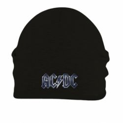Шапка на флисе AC/DC Logo - FatLine