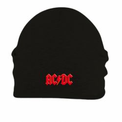 Шапка на флисе AC/DC Red Logo - FatLine