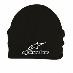 Шапка на флисе Alpinestar Logo - FatLine