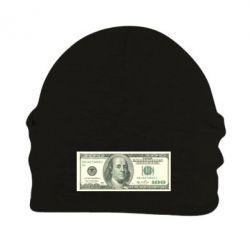 Шапка на флисе Американский Доллар - FatLine