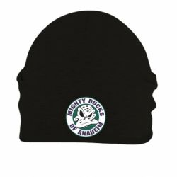 Шапка на флисе Anaheim Mighty Ducks Logo