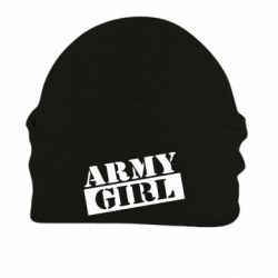Шапка на флісі Army girl