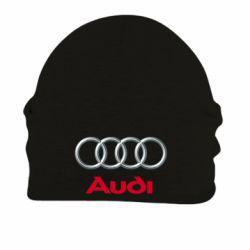 Шапка на флисе Audi 3D Logo