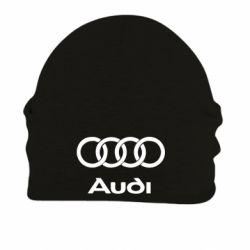 Шапка на флисе Audi - FatLine